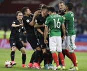 Mexico recovers to beat New Zealand 2-1 in fiery Confederations Cup game
