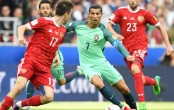 Cristiano Ronaldo strikes as Portugal down Russia