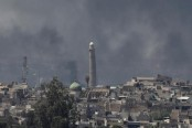Iraq PM says Mosul mosque destruction means IS admitting defeat