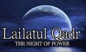 Lailatul Qadr Thursday night