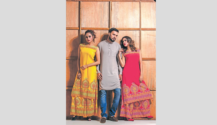 Fashionable Eid, Vibrant Style
