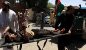 34 killed as car bomb hits bank in Afghanistan