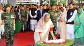 Prime Minister pays homage to Bangabandhu on Awami League founding anniversary