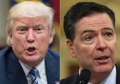 Trump: I did not record ex-FBI chief James Comey