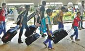 Eid holidaymakers start leaving capital