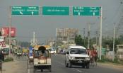Little traffic jams on highways despite mass exodus