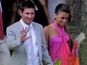 Messi's gritty hometown braces for a glam wedding