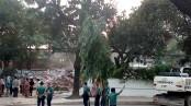 Moudud slams his Gulshan house demolition