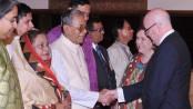 President hosts Eid-ul-Fitr reception at Bangabhaban