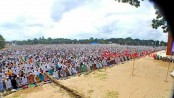 Not Sholakia, the largest Eid congregation held in Dinajpur!