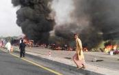 Pakistan marks grim Eid after oil tanker inferno kills 153