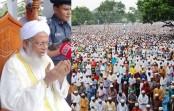 Biggest Eid congregation held at Sholakia