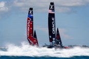 Team New Zealand routs Oracle Team USA to win America's Cup