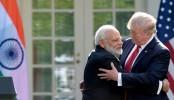 Trump and Modi exchange hugs, herald stronger US-India ties