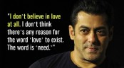 Marriage is a waste of money: Salman Khan