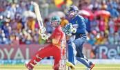 Zimbabwe thrash Sri Lanka in one day battle