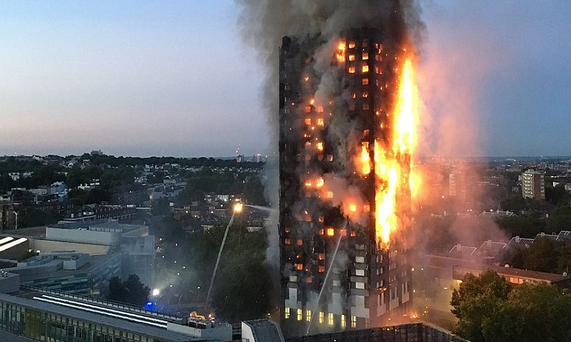 May under pressure to replace council over London blaze