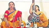 Silpi Paul enthralls Dhaka audience