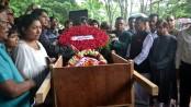 Dr Karunamoy Goswami cremated in Narayanganj