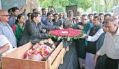 Karunamoy Goswami cremated