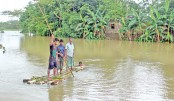 Floods worsen in  Sylhet, Moulvibazar