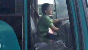 12-year-old steals bus, goes on 40-minute joyride (Video)