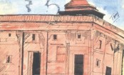 First halt of tourists to the Taj