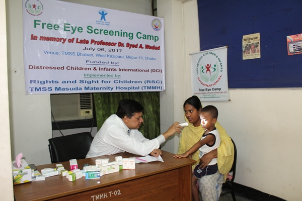 Free Eye Screening Camp held in capital