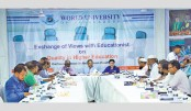 View exchange meeting on quality education held at WUB
