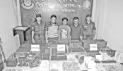 Three held with VoIP equipment in port city