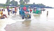 Fresh areas in six N-dists inundated