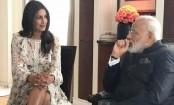 Narendra Modi had no issues with Priyanka Chopra's knee-length dress