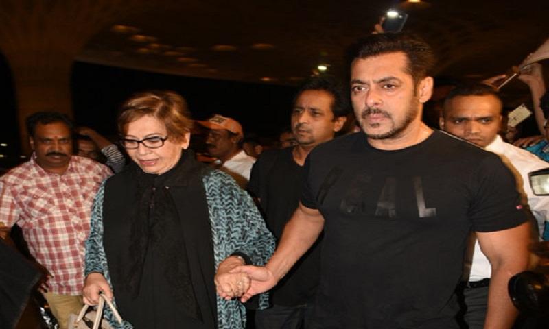 Salman Khan and step-mum Helen head to New York together