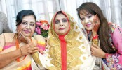 Shabnam, Tareen pass special time with Shahnaz Rahmatullah