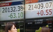 Asian markets mostly weaker before Fed chair speech