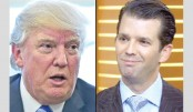 Trump defends 'innocent' son Donald Jr over Russia meeting