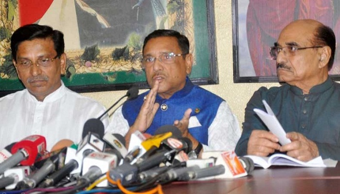 BNP can't halt AL's victory by falsehood: Quader