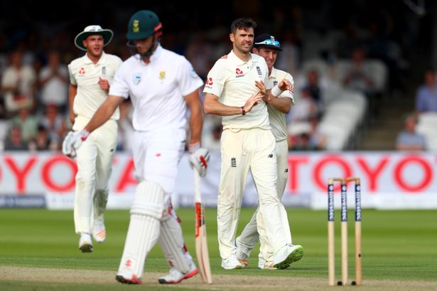 South Africa wins toss and bats in 2nd test vs England