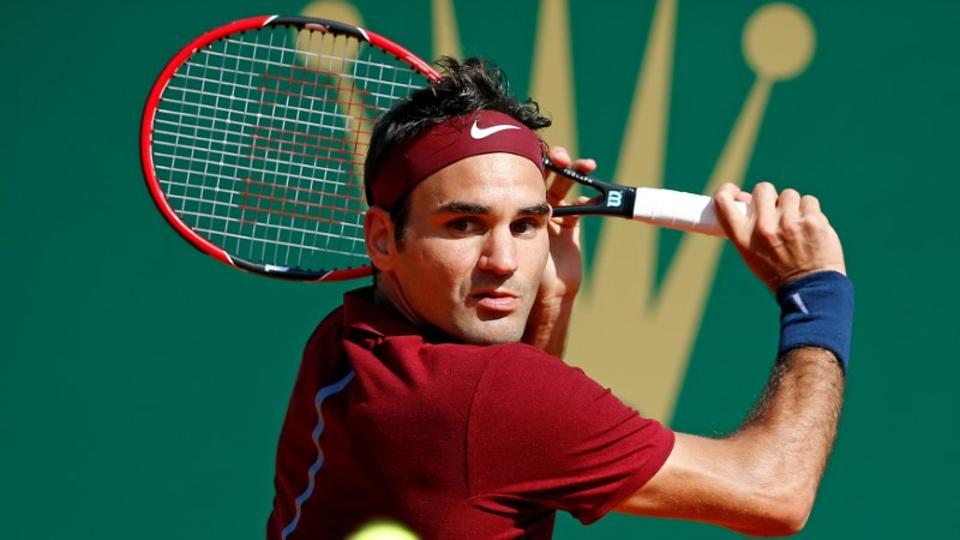 Roger Federer two steps away from record title