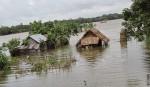 Flood engulfing   central region