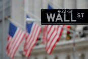 Banks, tech lead US stocks to modest gains, new Dow record