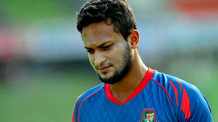 Shakib injured during practice in conditioning camp