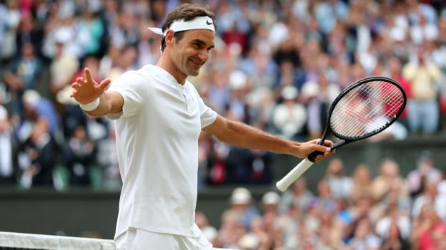 Federer into 11th Wimbledon final; faces Cilic for 8th title