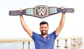 Rohit receives special gift from WWE star Triple H