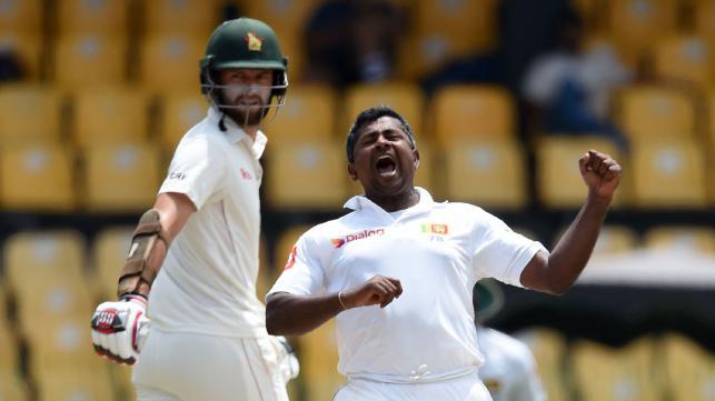 Herath's triple strike rattles Zimbabwe top-order