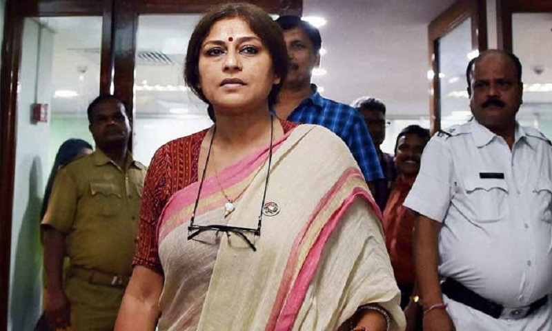 Case filed against Roopa Ganguly for rape remark