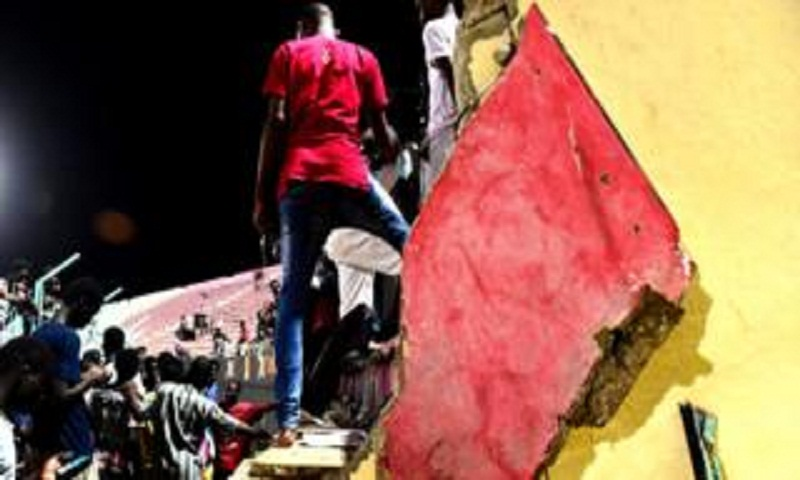 Eight dead in wall collapse at Senegal's Demba Diop stadium