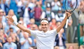 Federer one step away from Wimbledon immortality