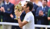 Roger Federer triumphs record-breaking Wimbledon win