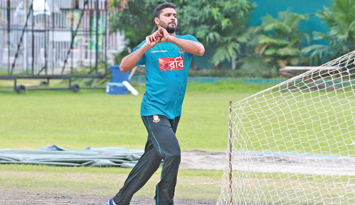 Bangladesh ODI skipper Mashrafe Mortaza
